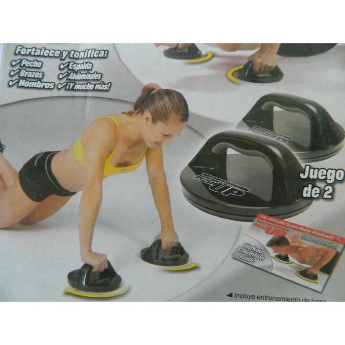 poignées pivotante musculation gym FITNESS PUSH UP abdominaux