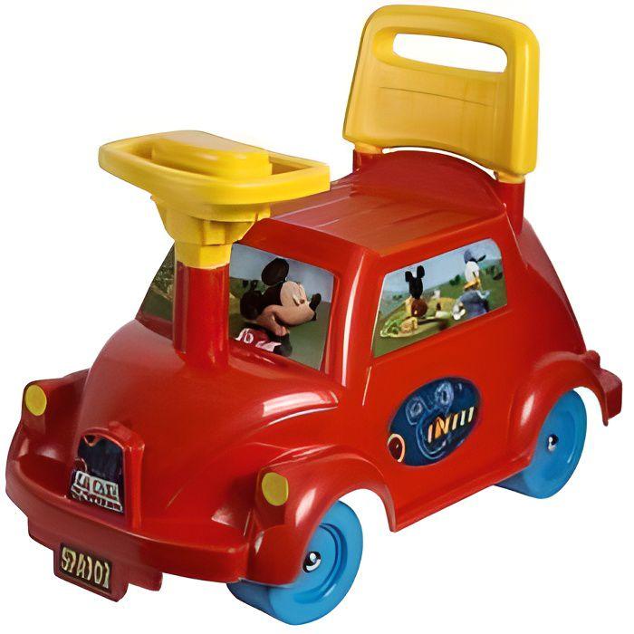 Porteur voiture Mickey Disney - Bebe des 18 mois