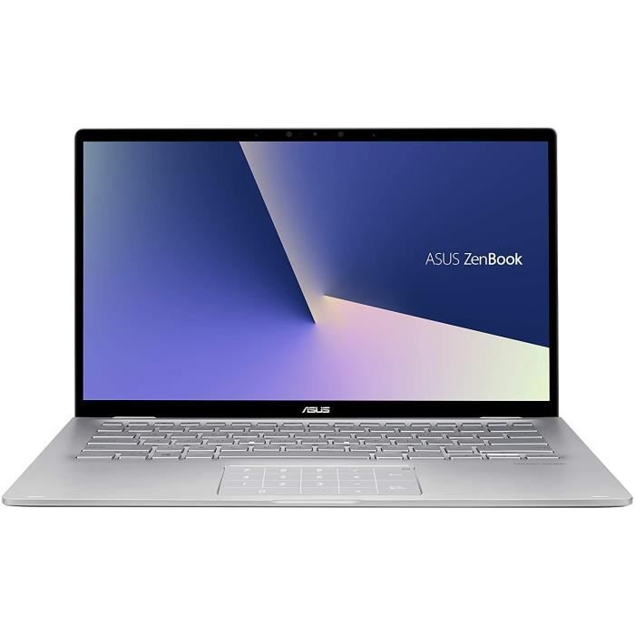 ASUS Zenbook Flip UM462D-AI054T PC Portable Tactile Convertible 14'' FHD (AMD Ryzen 5 3500U, RAM 16Go, 512Go SSD, Windows 10) Clavie