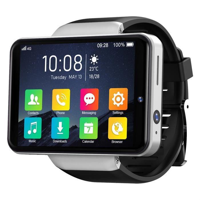 TICWRIS MAX S 2.4 pouces 3GB + 32GB LCD 2000mAh SmartWatch pour téléphone Android 7.1 4G WHAS33