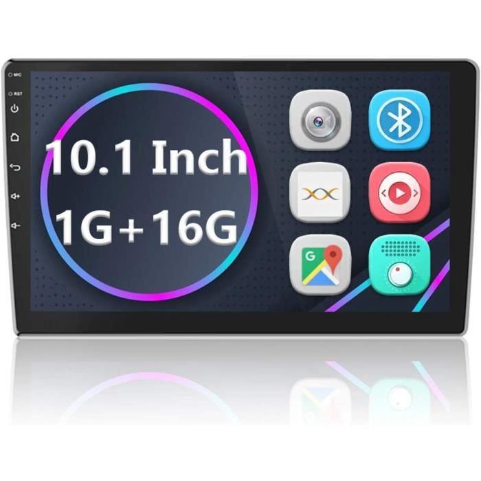 Android Autoradio GPS Navigation Stéréo Lecteur 2 Din 10'' Écran Tactile Bluetooth WiFi FM Récepteur Mobile Téléphone Miroir L[221]