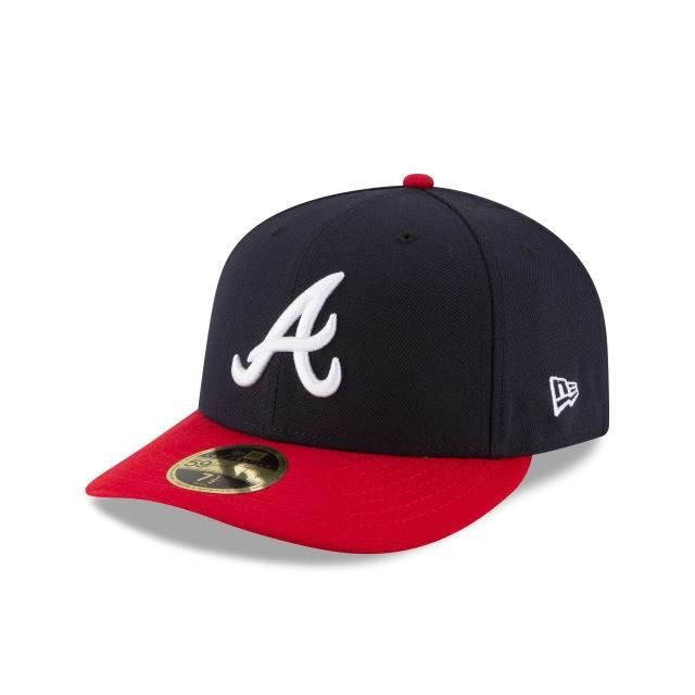 Casquette New Era Braves Low Profile 59fifty