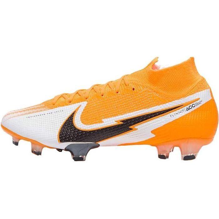 Nike Chaussures Football Mercurial Superfly 7 Elite Fg Orange 35