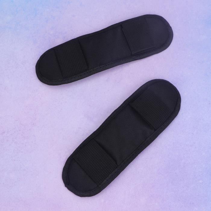 2 pièces Épaulières Remplacement Confortable Détachable Sac À Dos Bandoulière Sangle Pad Violon Épaule Coussin BALLON DE FOOTBALL