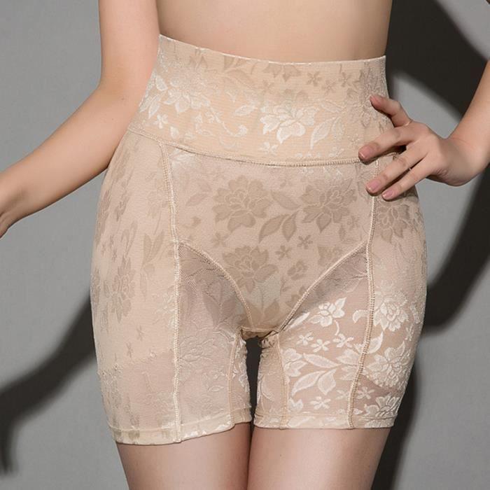 Culotte taille haute femme Caleçon de contrôle de l'abdomen de levage pour la hanche BRASSIERE DE SPORT - SOUTIEN-GORGE DE SPORT
