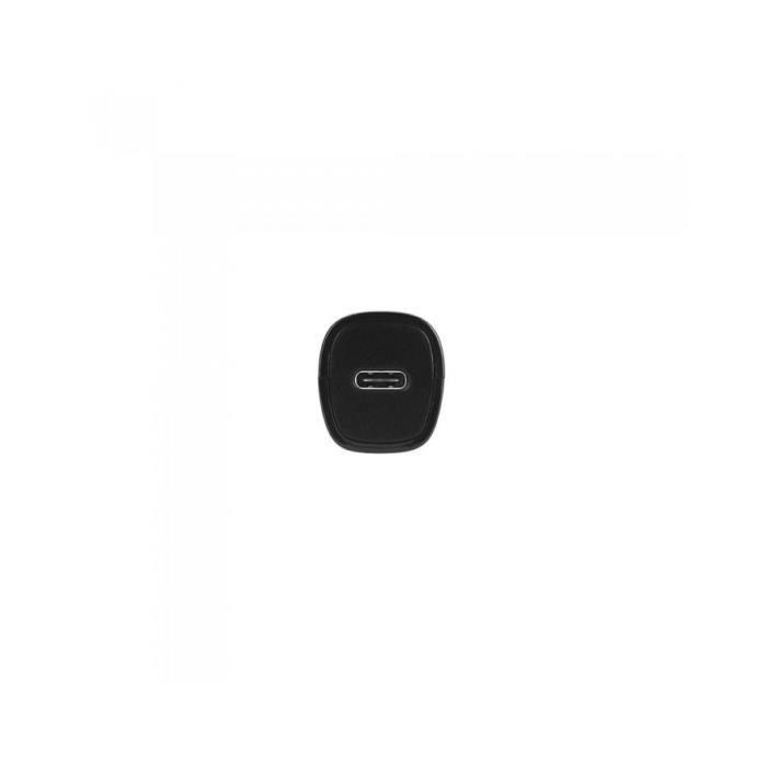 Chargeur allume-cigare + câble USB C/USB C Noir
