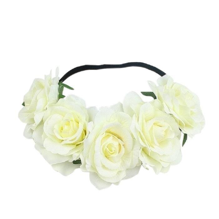 Argent OULII Broche de strass fleur pour le bouquet de la mari/ée