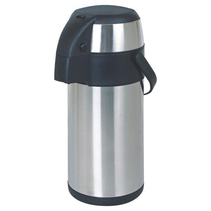 5 L Litre en acier inoxydable Pulvérisateur à pression Fiole À Vide Thermos Pichet Avec Pompe Action