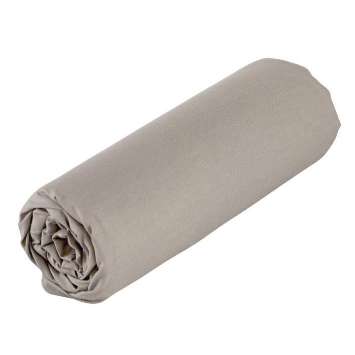 Lot de 3 Draps housse Coton pour lit B/éb/é 40x80-8 coloris disponibles Rose