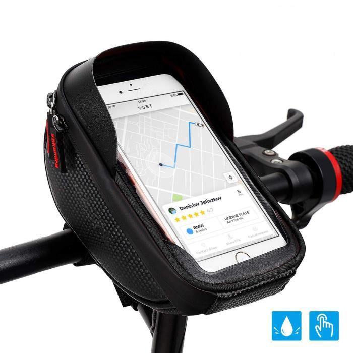 Cadre Sac Vélo Sac Tube Sac 6.5 in Sac Portable Étanche