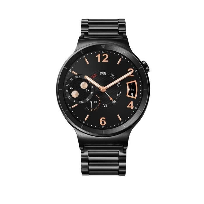 huawei montre connec e active bracelet acier noir achat montre connect e pas cher avis et. Black Bedroom Furniture Sets. Home Design Ideas