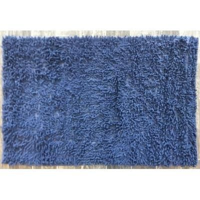 tapis salle de bain m che bleu marine achat vente tapis bain cdiscount. Black Bedroom Furniture Sets. Home Design Ideas