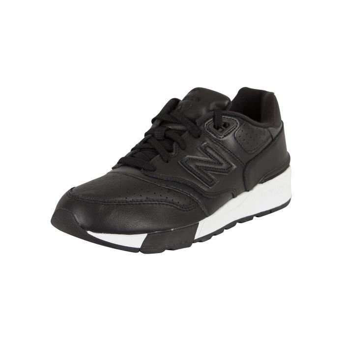 buy popular f0bd4 17b3f BASKET New Balance Homme 597 formateurs, Noir