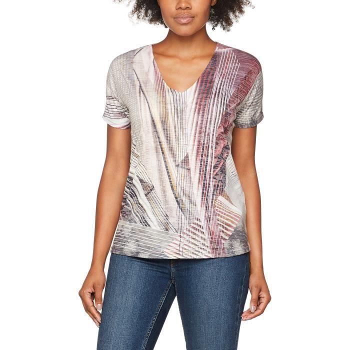 T-SHIRT Gerry Weber Berry Tales, T-shirt Femme 1QNDVF Tail
