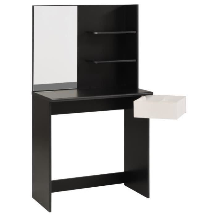 coiffeuse moderne achat vente pas cher. Black Bedroom Furniture Sets. Home Design Ideas