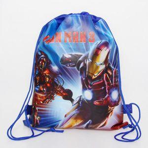 POCHETTE CADEAU Version Iron Man - 1 Pièces    S Sac Intissé À Dos