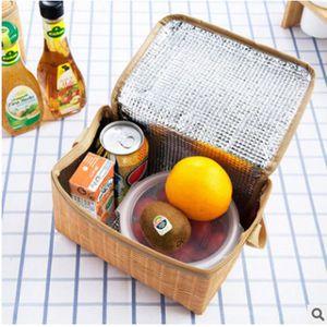 LUNCH BOX - BENTO  Boîte à lunch thermique isotherme Sac fourre-tout