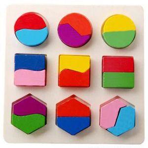 PUZZLE beguin® Enfants Bâtiment bébé Géométrie de blocs e