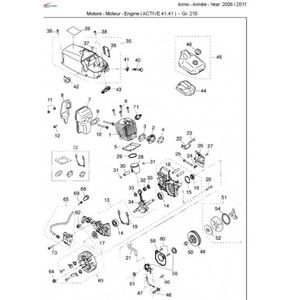 Barre de guidage de la tron/çonneuse accessoires de tron/çonneuse de rechange pour mini scie /à cha/îne /électrique portable Cha/îne de scie /à cha/îne pour 4 pouces