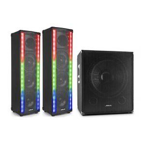 PACK SONO Vonyx LM80 Pack enceintes sono Bluetooth : 2 encei
