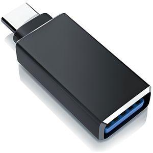 ADAPTATEUR AUDIO-VIDÉO  CSL Adaptateur USB C vers USB A 3.0 Connecteur USB
