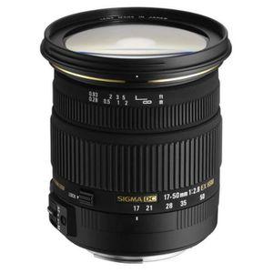 OBJECTIF Sigma Objectif 17-50 mm F2,8 EX DC HSM - Monture S