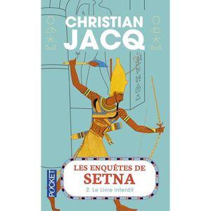 LITTÉRATURE FRANCAISE Livre - les enquêtes de Setna t.2 ; le livre inter
