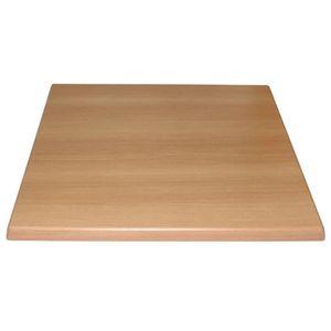 TABLE À MANGER SEULE Bolero Table carrée Top Hêtre 600mm