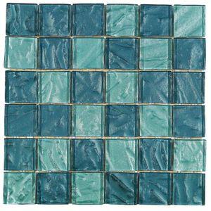CARRELAGE - PAREMENT Mosaïque en pate de verre - Dimensions : 30 x 30 c