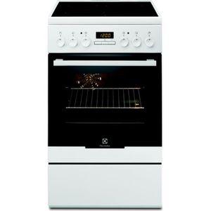 CUISINIÈRE - PIANO Cuisinière vitrocéramique Electrolux EKC54350OW •