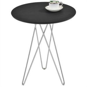 TABLE D'APPOINT Table d'appoint BENNO table à café table basse ron