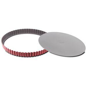 MOULE  TEFAL Moule à tarte Delibake en acier - Ø 28 cm -