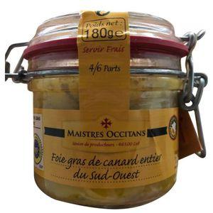 FOIE GRAS LA QUERCYNOISE Foie gras de canard entier - 180 g