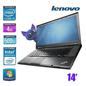Top achat PC Portable LENOVO THINKPAD T410 CORE I5 M560 4GO 500GO pas cher