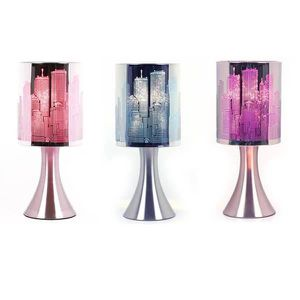 LAMPE A POSER Lampe Touch New-York City a variateur Modele Rose