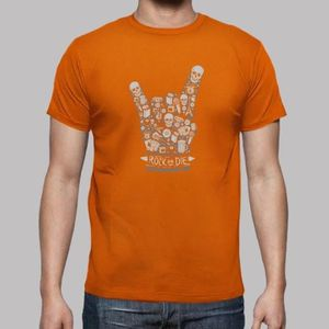 T-SHIRT le dimanche, un t - shirt rock ou hommes mourir im