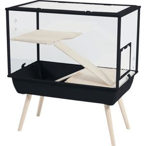 CAGE Cage Nevo Palace Noir - Pour rongeur