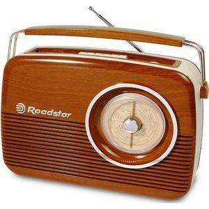 BALADEUR CD - CASSETTE ROADSTAR TRA-1957/WD Radio portable Vintage