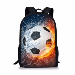 CARTABLE Cartable football pattern 2 L