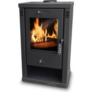 POÊLE À BOIS Poele à bois max 10.5KW - Warmtech