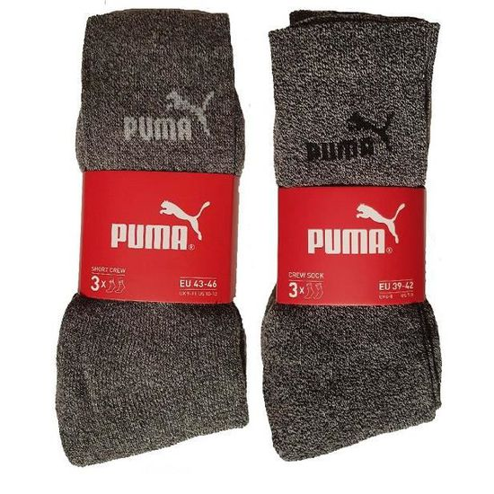 Femme Mixte PUMA Chaussettes Lot de 2 Vêtements lemoncitylive.com