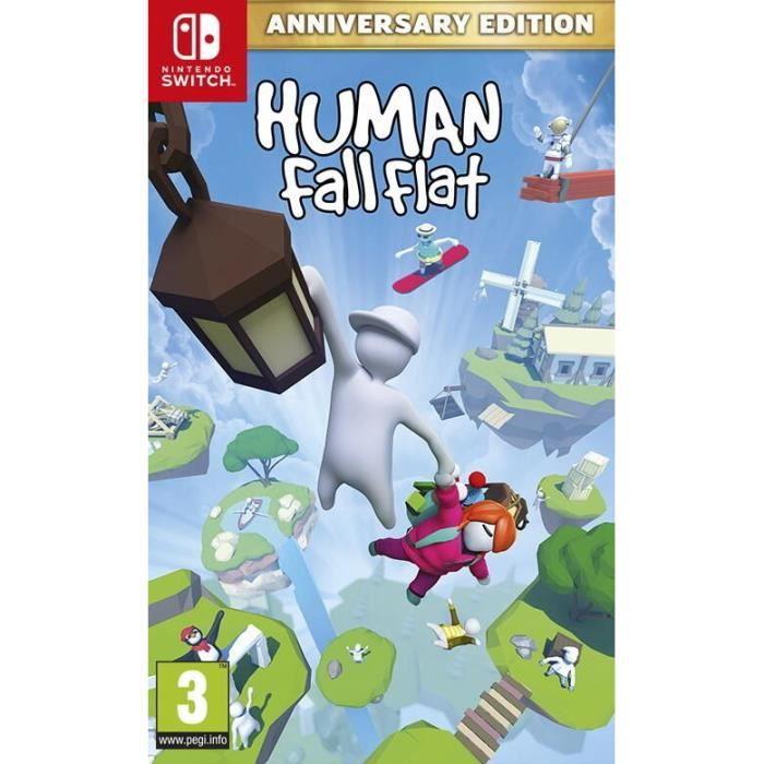 Human Fall Flat Anniversary Edition Jeu Switch