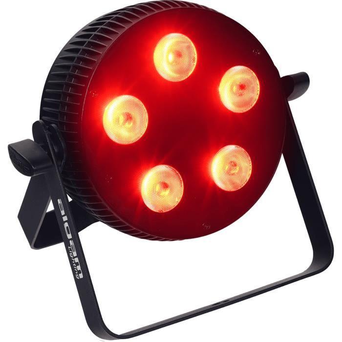Algam Lighting SLIMPAR-510-QUAD - Projecteur à LED 5 x 10W RGBW