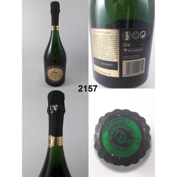 Champagne Mumm - Cuvée Prestige 2002 - N° : 2157, Champagne, Blanc