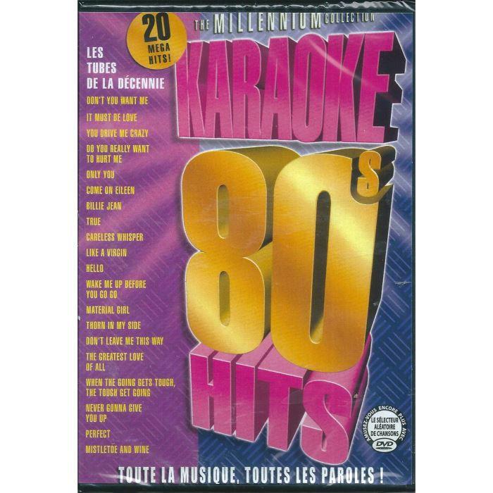 DVD Karaoke : les annes 80