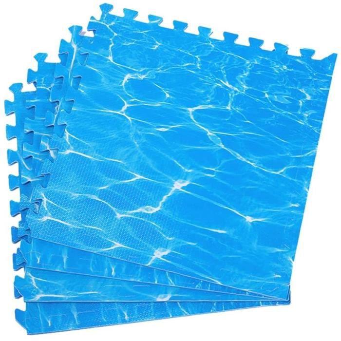Puzzles de sol RUIRUIY Tapis Mousse Enfant VA Épais Tuile Souple Sport Durable Tapis De Sol, 2 Couleurs (Color : Blue, S 321536