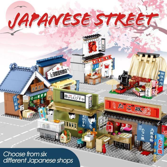 Lego City Series Mini Street View blocs de construction enfants assemblage de jouets garçons et filles Puzzle Villa maison modèle!