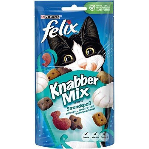 Felix KnabberMix friandises pour Chat, Lot de 8 (Sachet de 8 x 60 g) 12183469