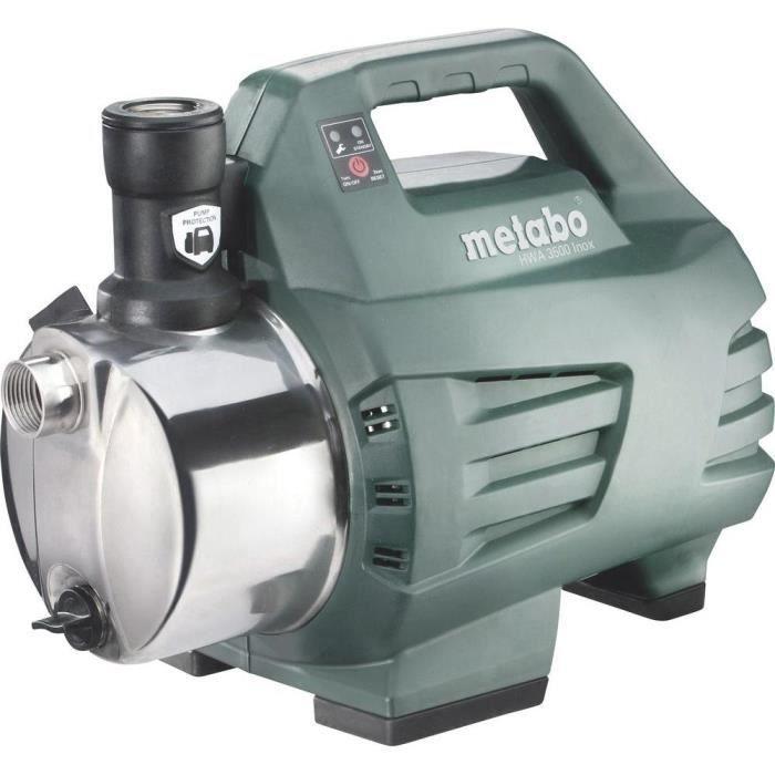 Surpresseur automatique domestique HWA 3500 Inox Metabo 600978000