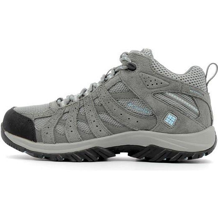 COLUMBIA Chaussures de randonnée Canyon Point Mid - Femme - Gris